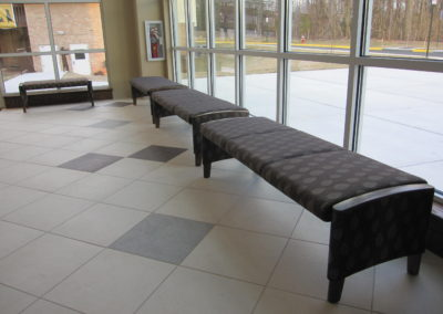 Captial Bench, Narthex Lobby Bench - Wieland